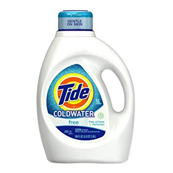 Tide Free for Coldwater Laundry Detergent, 100 Ounce
